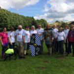 Charity walk with the Haemochromatosis Society